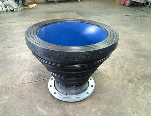 UHMWPE Lined Concentric Reducer