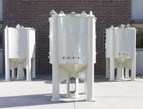 Polypropylene Conical Base Tanks