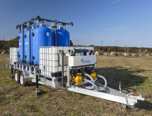 Mobile Water Treatment Plant – Filtration Trailer